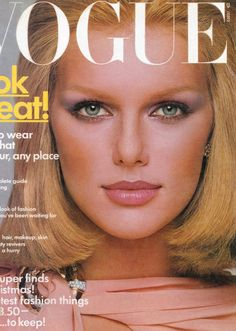 Top Models of the World.com: Patti Hansen 1975 Vogue