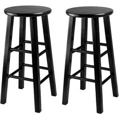 Winsome Essential 24 Stools, Set of 2, Multiple Colors- For the kitchen (if i get the apartment I love with the island)