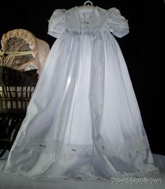 Christening / Dedication dress by LIZZARD101 on Etsy, $85.00