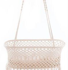 Hanging bassinet Hanging Bassinet, Tote Bag, Handmade, Bags, Home Decor, Hanging Cradle, Handbags, Hand Made, Decoration Home