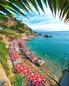 Mermerli plajı Antalya |Türkiye