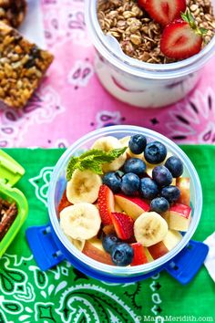 100 Healthy, Delicious and Easy Lunchbox Snack Ideas on MarlaMeridith.com GREAT for Back to School & Summer Camp!