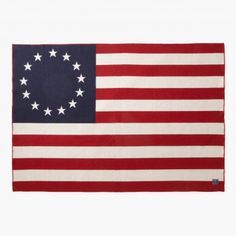 1776 Flag Wool Throw from Faribault Woolen Mill Co. #MadeInTheUSA sice 1865.
