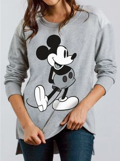 Mickey Mouse High-Low Moto Fleece - Disney - Collections - Womens