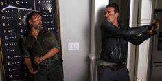 Andrew Lincol quebrou o nariz de Jeffrey Dean Morgan acidentalmente durante as gravações de The Walking Dead