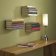 Concealed Book Shelves...love it so much.