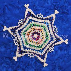 Ravelry: Slopestyle Snowflake pattern by Deborah Atkinson