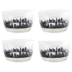 212 Storage Bowls Gift Set of 4