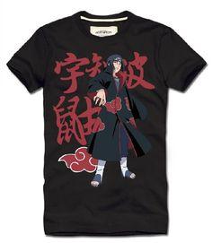 Naruto Uchiha Itachi logo new style t shirt - Tshirtsky