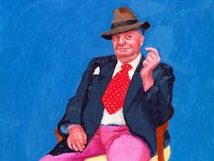 If you are in Venice, don't miss the beautiful exhibition of David Hockney at Ca' Pesaro- until October, 22nd. Just one question: what's the link between Hockney and Bojack Horseman? :) Find out here #Hockney #Venice