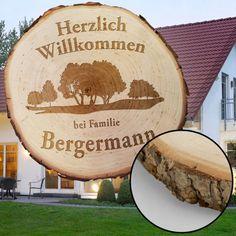 Baumscheibe mit Gravur - Familie  http://www.monsterzeug.de/Baumscheibe-mit-Gravur-Familie.html