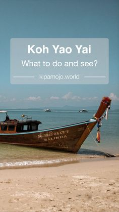 What to do and see in Koh Yao Yai, Thailand - Sharing our experience on the beautiful Thai island of Koh Yao Yai  Asia travel, travel blog, travel tips, beautiful destinations, tropical getaways, beach, palm trees, turquoise sea