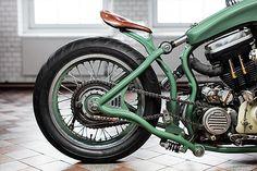 '88 Harley Sportster – Adam's Custom Shop  |  Pipeburn.com