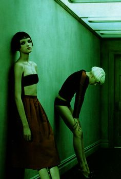 Vlada Roslyakova (& someone else; Agyness Deyn?)