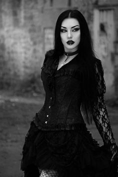 Clothes: Burleska Corsets Model/MUA/Edit: Baph O Witch Welcome to Gothic and Amazing | www.gothicandamazing.com