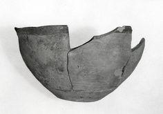 Bowl  Period:Chalcolithic Date:4th millennium B.C. Geography:Iran, Tall-i Nokhodi Culture:Iran Medium:Ceramic Dimensions:2.4 in. (6.1 cm) Classification:Ceramics-Vessels