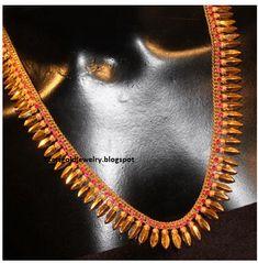 Gold Jewellery Designs: Malabar designs
