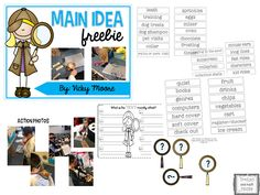 We had so much fun with main idea today! My students loved this lesson and it was so engaging and motivating. Main Idea Activities, Victoria Moore, Dog Shampoo, English Language Arts, Kids Ride On, Maine, About Me Blog, Elementary Teaching, Student