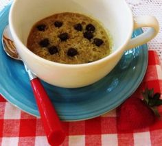 Gluten-Free Chocolate Chip Cookie in a Cup