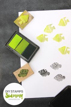 Let's make some super simple DIY stamps with everyday materials! #vbcforkids…