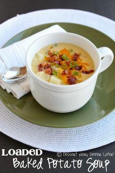 The BEST Loaded Baked Potato Soup