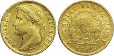 "NumisBids: Numismatica Varesi s.a.s. Auction 65, Lot 727 : NAPOLEONE I (1804-1814) 20 Franchi 1815 A (Parigi) ""i 100 giorni"" ..."