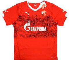 Eastern European Clubs - Other European Clubs - Classic Retro Vintage Football Shirts New Football Shirts, Classic Football Shirts, Vintage Football Shirts, Soccer Jerseys, Red Star Belgrade, International Soccer, Club Shirts, Retro Vintage, Third