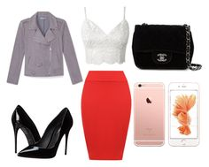 """""""soirée copines"""" by chanelikoli on Polyvore featuring WearAll, Dolce&Gabbana, Rebecca Minkoff and Chanel"""