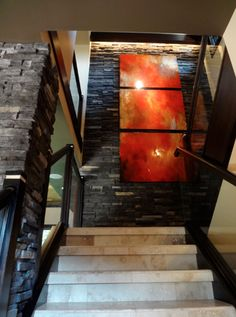 Devine Color - Devine Muslin,Devine Gator, Devine Delicate Sheen, exposed walls, modern, art, staircase, stairway, open concept, interior design, stunning