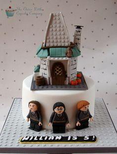 Lego Harry Potter Cake
