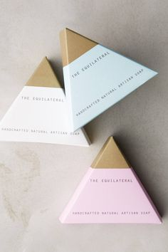 Equilateral Soap Bar Packaging - anthropologie.com                                                                                                                                                                                 More