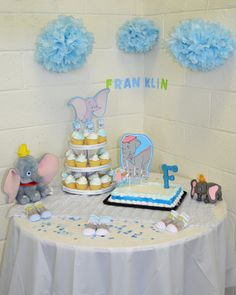 DIY Dumbo Baby Shower okay this is really cute