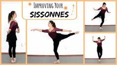 Improving Your Sissonnes | Kathryn Morgan Ballet Class, Dance Class, Dance Studio, Dance Tips, Dance Lessons, Ballerina Workout, Ballet Stretches, Teach Dance, Dance Technique