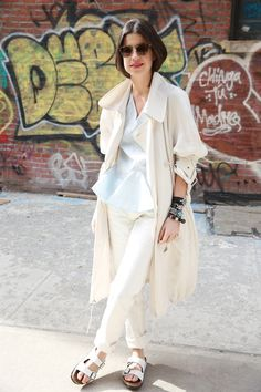 The Manifold Ways to Wear White Jeans | Man Repeller| Leandra Medine