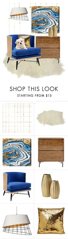 """""""BRIGHT SPOT"""" by paula-parker ❤ liked on Polyvore featuring interior, interiors, interior design, home, home decor, interior decorating, Tempaper, Oliver Gal Artist Co. and Forever 21"""