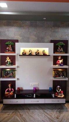 unit With Mandir 67 Stylish Modern TV Stand Ideas that Inspired Modern Tv Unit Designs, Modern Tv Wall Units, Living Room Tv Unit Designs, Tv Cabinet Design Modern, Wall Unit Decor, Tv Unit Furniture Design, Tv Wanddekor, Tv Wall Cabinets, Bedroom Cabinets