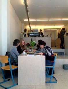 White Label Coffee | 2013 | Amsterdam | Coffee brander | Trends: Iconisation, Urban, Local, Slow