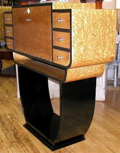 Stunning French Secretary   Sold Items Desks & Cabinets   Art Deco Collection