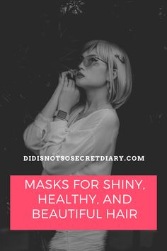 Masks For Shiny, Healthy, And Beautiful Hair, Due to time, hair coloring, blow-drying, and ironing, our hair loses that beauty. It's getting more and more damaged and...find out more... #hair#product#healthy