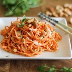 Сыроедческая паста из моркови
