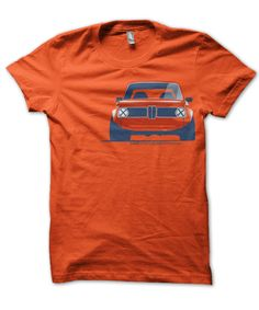 Retro 2002- Cars for a Cure BMW 2002 T-Shirt - $25 with 20% to go directly to The Breast Cancer Research Foundation®. Designed by Mason Watson an automotive design enthusiast who's mother passed away from breast cancer in 2008. Shirts is designed and printed in the USA on the best quality, American Apparel tees. #CarsforaCure #MasonWatson