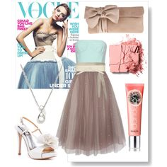 Tulle Skater, created by carmelmccarthy on Polyvore