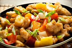 Sweet and sour chicken  #PaleoLeap