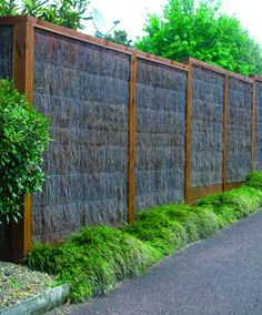 bamboo builders northwest seward park pine brush fence exterior