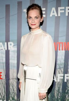 """Ruth Wilson at the Premiere Of SHOWTIME Drama """"The Affair"""" Held At North River. Hair by Anthony Campbell. Makeup by Brigitte Reiss-Andersen. Montauk New York, Ruth Wilson, British Actresses, Reiss, Affair, Drama, River, Makeup, Make Up"""