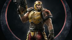Nice Quake Champions Ranger 8K 7680x4320 wallpaper