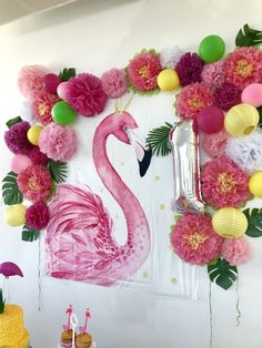 12 best Flamingo Party images on Pinterest | Flamingo party, Fiestas ...