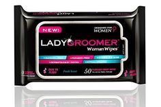 Ladygroomer Woman Wipes Flushable Moist Personal Wipes Designed for Women 6 X 50 for sale online