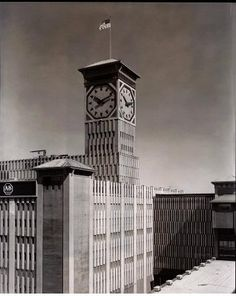 Allen Bradley clock tower in Milwaukee Wisconsin