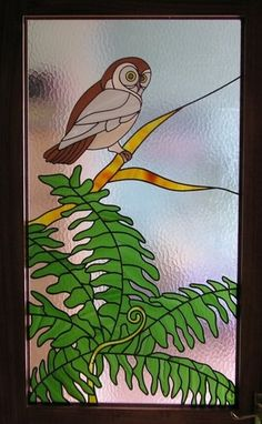 Flora Fauna in Stained Glass by NZ Artists : Grows on You Custom Stained Glass, Tiffany Stained Glass, Stained Glass Birds, Stained Glass Designs, Stained Glass Projects, Stained Glass Patterns, Stained Glass Windows, Mosaic Art, Mosaic Glass